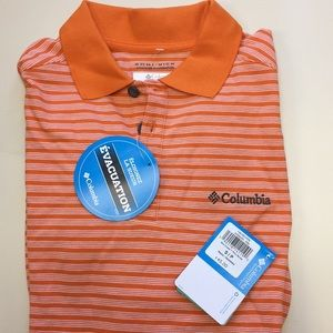 Columbia Men's Elm Creek Polo Stripe Small